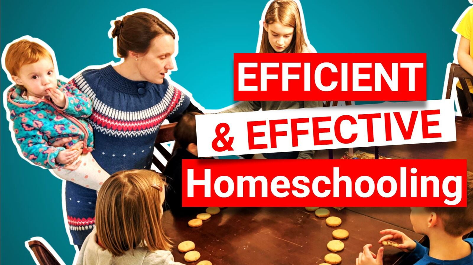 Webinar: Classical Homeschooling for Busy Moms: Let's Get Efficient and Effective!