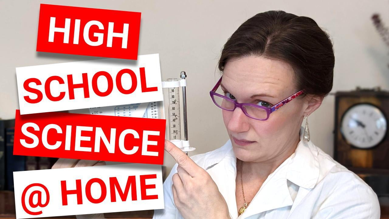 You CAN Homeschool High School SCIENCE! | How to Keep Your Student on Track in Science